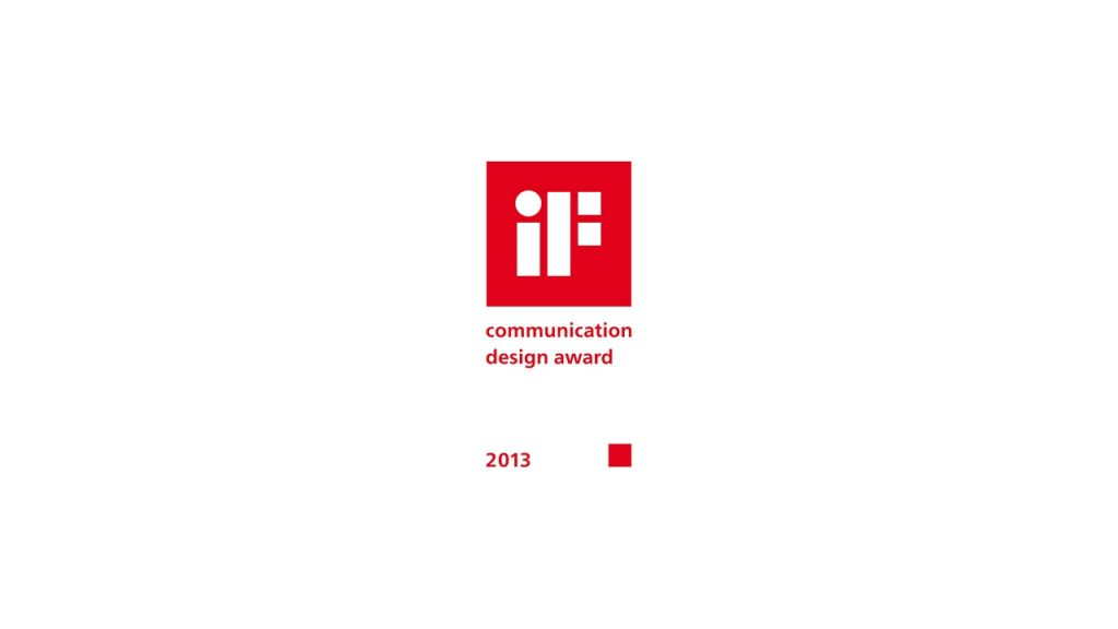 iF Communication Design Award 2013